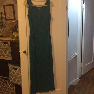 Aqua blue dress Roz & Ali maxi 16